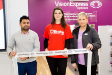 Driver eye health on the agenda at opening of new Walkden optician