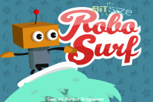 Enjoy a free weekend of the best summer surfing game, Robo Surf!