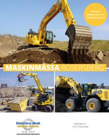 Maskinmässa i Rosersberg