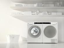 Den intelligenta tvättmaskinen styr tvätten