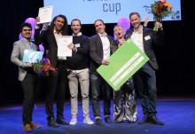 Biltvättens Uber prisades som Game Changer i Venture Cups Sverigefinal