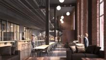 Arcona och Veidekke har fått i uppdrag av Fabege att bygga The Winery hotel