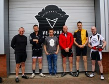 Local police force pedal 205 miles for children's charity