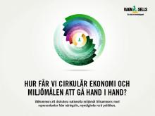 Hur får vi cirkulär ekonomi och miljömålen att gå hand i hand? Välkommen till Ragn-Sells i Almedalen.