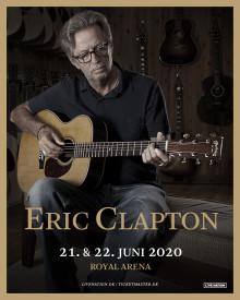 Eric Clapton i Royal Arena 21. & 22. juni 2020