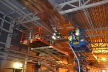 Reportage: Effektiv rör- och ventilationsisolering i glasull från ISOVER på ESS-projektet
