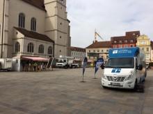 Beratungsmobil der Unabhängigen Patientenberatung kommt am 24. August nach Regensburg.
