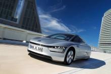 Volkswagen XL1 klar för produktion – förbrukar endast 0,9 liter per 100 km