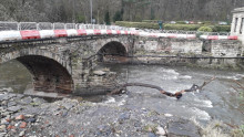 ​Rebuilding work re-starts on Summerseat bridge