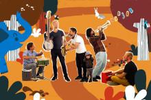 Oddjob – Jazzoo Jazz för stora och små på Palladium Malmö 15 mars