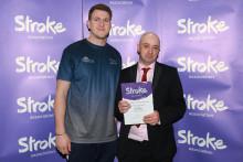 Blackburn stroke survivor receives regional recognition