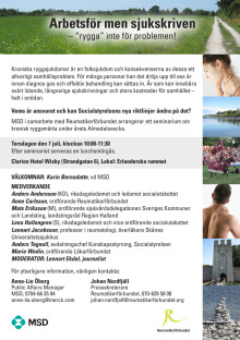 Inbjudan Almedalen 7 juli