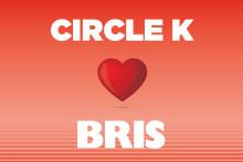 Circle K bidrar med 2,8 miljoner kronor till Bris