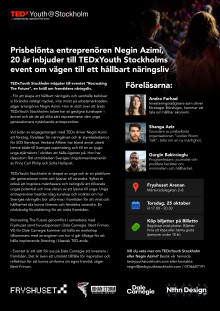 TedXYouth Pressmeddelande