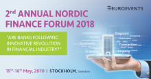 The Nordic Finance Forum, Stockholm 15-16 May