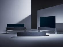 LG esittelee maailman ensimmäisen rullattavan television