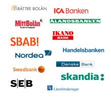 Bäst genomsnittlig prutmån: Danske Bank. Lägst snittränta: MittBolån