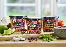 Upptäck Felix Veggie Bowls – vegetariska grytor fulla av smak