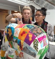 Nottingham University joins Elephant Parade UK National Tour