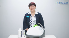 Nocospray ja Nocomax -laitteet kuivahöyrydesinfektioon - katso video!