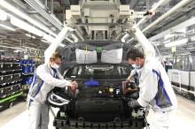 Volkswagen återupptar gradvis produktionen av elbilen ID.3