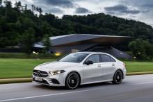 Nyt medlem af Mercedes-Benz familien: A-Klasse sedan