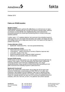 Fakta om IPASS-studien