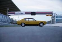 Ford Capri runder 50 år som ikonisk sportsvogn