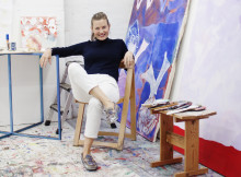 Marianne Hurums første museumsutstilling