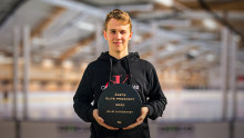 Nils Lundkvist 2020 års vinnare av Elite Prospects Award