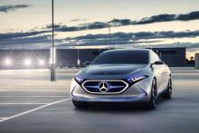 Kompakt elbil fra Mercedes-Benz: Concept EQA