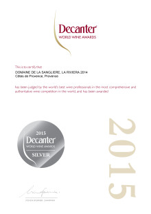 La Riviera Silver Decanter World Wine Awards