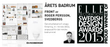 Svedbergs Årets badrum - ELLE Decoration Design Awards