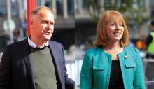 Annie (C) och Jonas (V) syn på företagsamhet förvirrande lika för väljarna