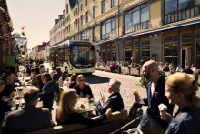 Framgångsrikt år för Göteborgs elbusslinje