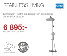 Kampanj - Stainless Living IN-3600