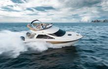 スポーツクルーザー 「SR320FB」 新発売 定点保持機能を追加した船外機操船制御システムを搭載
