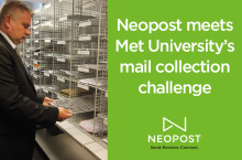 Neopost meets Manchester Metropolitan University's mail collection challenge