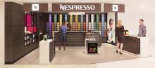 Nespresso åbner ny boutique i Magasin Kgs. Nytorv