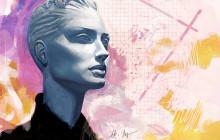 Konstnären Henric Aryee live på Clarion Hotel Sign