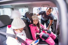 Säkrare barn i bilen och på vägarna