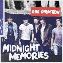 """One Direction – direkt in som etta på svenska albumlistan med """"Midnight Memories"""""""