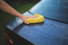 Tvätta bilen och tänk på miljön!