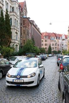 """Bilpool från Volkswagen: """"Quicar"""" lanseras i Hannover"""