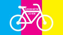 Jonas Olsson cyklar med Funktionshinderbanan för fler och bättre LSS-hem till Uppsala