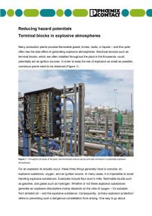 Reducing hazard potentials
