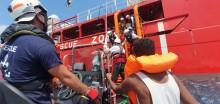 Läkare Utan Gränser och SOS MEDITERRANEE ber om en säker hamn att gå iland