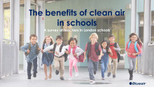 The benefits of clean airin schools: A survey of teachers in London schools