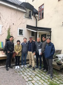 Sydkoreaner lär sig radonsanering i Sverige