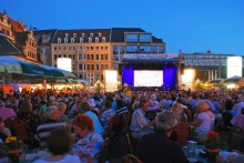 Classic Open feiert 20. Jubiläum auf dem Leipziger Markt (1.-9.8.2014)